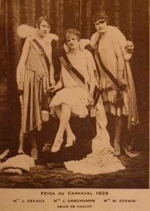 13 Chalon_Reines du Carnaval 1929.