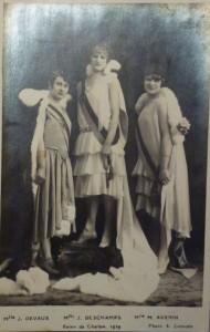 14 Chalon_Reines du Carnaval 1929.