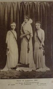 16 Chalon_Reines du Carnaval 1931.