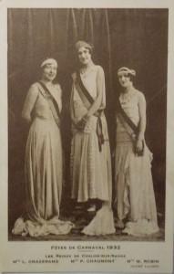 17 Chalon_Reines du Carnaval 1932.
