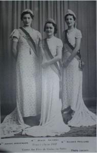 22 Chalon_reines du comité des fêtes 1938.