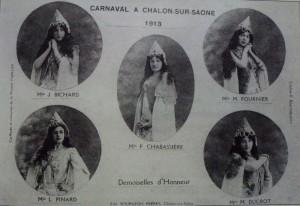 8 Chalon_reine et ses demoiselles d'honneur 1913.