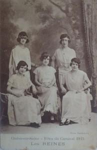 9 Chalon_les reines du Carnaval 1923.
