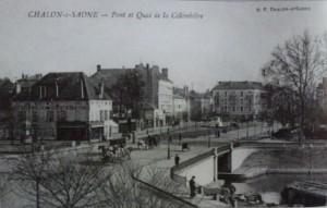 Chalon pont de la Colombière. 2