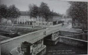 Chalon pont des Fainéants. 2