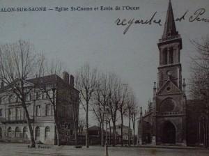 Chalon_église St Cosme. 1