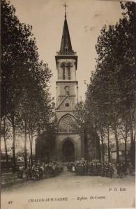 Chalon_église St Cosme. 4