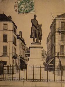 Chalon_évolution Statue de Nicéphore Niépce. 2