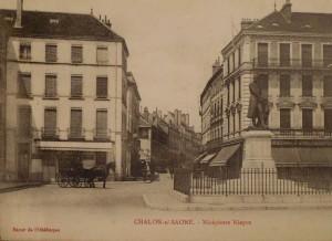 Chalon_évolution Statue de Nicéphore Niépce. 3