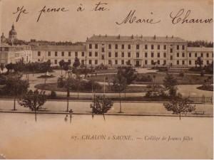 Chalon_Collège de Jeunes Filles. 1