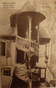 Chalon_Escalier rue aux Fèvres. 2