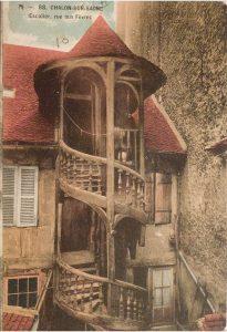 Chalon_Escalier rue aux Fèvres. 4