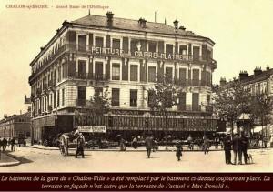 Gare Chalon-Obélisque PLM