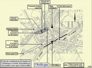 C'est en 1893 que la Gare du centre ville fut transférée sur Saint-Cosme.