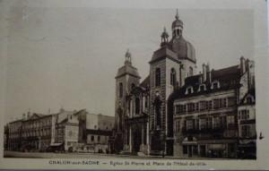 Chalon_Place de l'Hôtel de Ville. 9