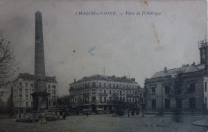 Chalon_Place de l'Obèlisque. 5
