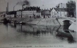Chalon Quartier St Cosme. 3 (Avant la nouvelle constructions)