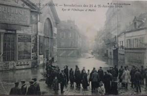 Chalon_inondation 25 janvier 1910.