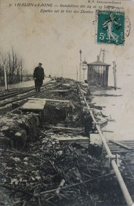 Chalon_inondation 24 25 Janvier 1910.