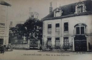 Chalon_place de la sous-préfecture. 1