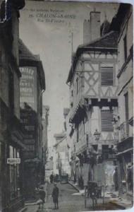 Chalon rue Saint Vincent. 1